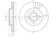 Тормозной диск METELLI 23-0476C