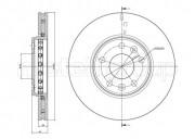 Гальмівний диск METELLI 23-0942C