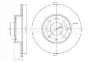 Тормозной диск METELLI 23-0071