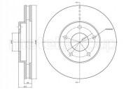 Гальмівний диск METELLI 23-0764C