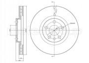 Гальмівний диск METELLI 23-0338