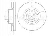 Гальмівний диск METELLI 23-0441