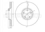 Тормозной диск METELLI 23-0702