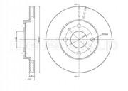 Гальмівний диск METELLI 23-0553