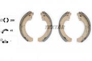 Барабанные тормозные колодки TEXTAR 91037201