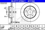 Тормозной диск ATE 24.0111-0175.1
