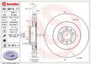 Гальмівний диск BREMBO 09.9915.11