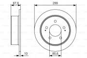 Тормозной диск BOSCH 0986479U21