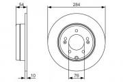 Тормозной диск BOSCH 0986479A45