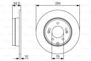 Гальмівний диск BOSCH 0986479T49