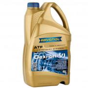 Синтетическая гидравлическая жидкость для АКПП Ravenol ATF Dexron VI