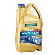 Синтетическое трансмиссионное масло Ravenol AWD-TOR Fluid