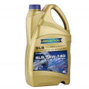 Синтетическое трансмиссионное масло Ravenol SLS 75W-140 GL-5 LS