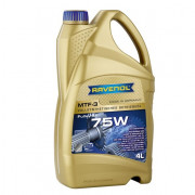 Синтетическое трансмиссионное масло Ravenol MTF-3 75W