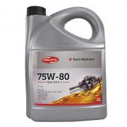 Полусинтетическое трансмиссионное масло Delphi Gear Oil 5 75W-80 GL-5