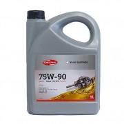 Полусинтетическое трансмиссионное масло Delphi Gear Oil 5/4 75W-90 GL-5