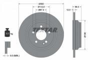 Тормозной диск TEXTAR 92272703