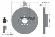 Гальмівний диск TEXTAR 92160905
