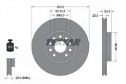 Тормозной диск TEXTAR 92120505