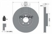 Гальмівний диск TEXTAR 92126603