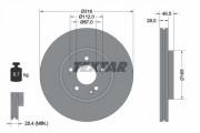 Гальмівний диск TEXTAR 92073100