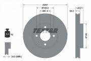 Гальмівний диск TEXTAR 92096700