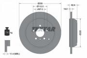 Тормозной диск TEXTAR 92150803