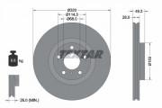 Гальмівний диск TEXTAR 92162400