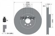 Гальмівний диск TEXTAR 92168203