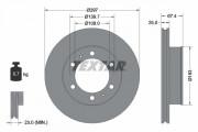 Гальмівний диск TEXTAR 92222600
