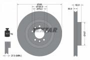 Тормозной диск TEXTAR 92283205