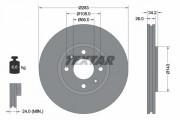 Тормозной диск TEXTAR 92111603