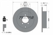 Тормозной диск TEXTAR 92167003