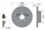 Тормозной диск TEXTAR 92133003