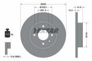Тормозной диск TEXTAR 92175103