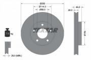 Гальмівний диск TEXTAR 92109403