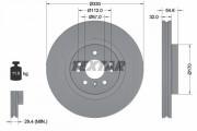 Тормозной диск TEXTAR 92150605