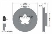 Тормозной диск TEXTAR 92151803