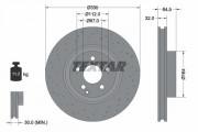 Гальмівний диск TEXTAR 92171903