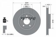Гальмівний диск TEXTAR 92135203