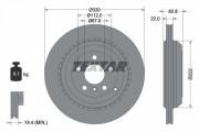 Тормозной диск TEXTAR 92150903