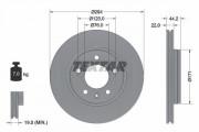 Тормозной диск TEXTAR 92121403