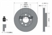 Гальмівний диск TEXTAR 92029603