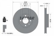 Гальмівний диск TEXTAR 92119203