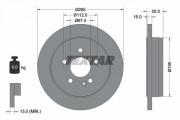 Гальмівний диск TEXTAR 92090003