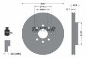 Тормозной диск TEXTAR 92145703