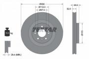 Гальмівний диск TEXTAR 92150705