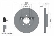 Тормозной диск TEXTAR 92130303