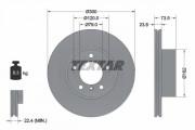 Тормозной диск TEXTAR 92137705