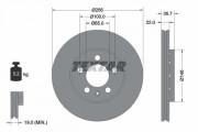 Тормозной диск TEXTAR 92082205